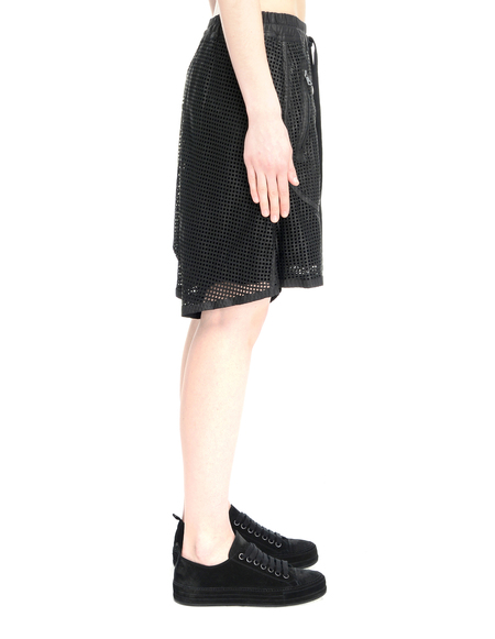 Isaac Sellam Leather Shorts - Black