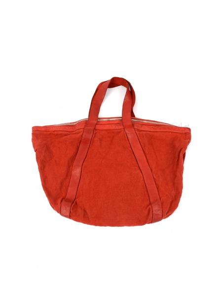Guidi Linen Bag - Red