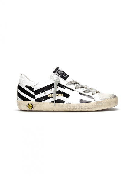 Kids Golden Goose Leather Sneakers