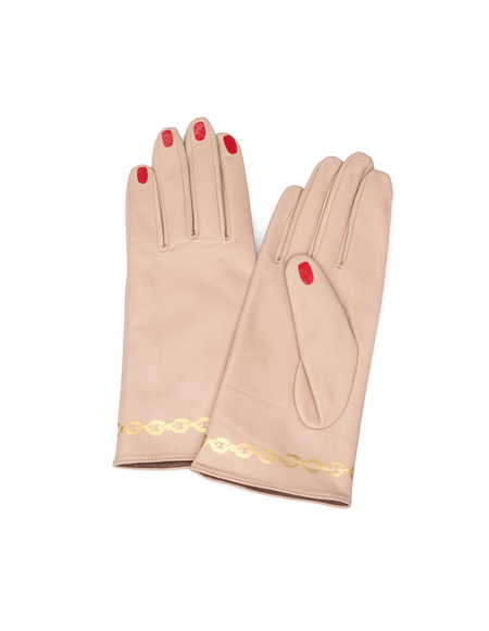 Undercover Leather Gloves