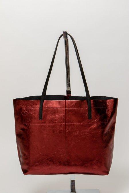 Linde Gallery Gouverneur Metallic Bag - RUBY