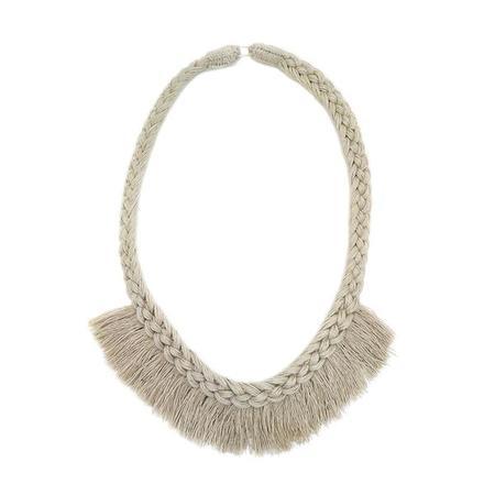 Erin Considine Agustin Necklace - Flax