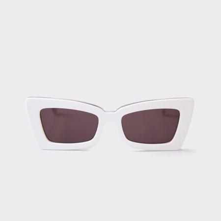 Le Specs Zaap! Sunglasses - White
