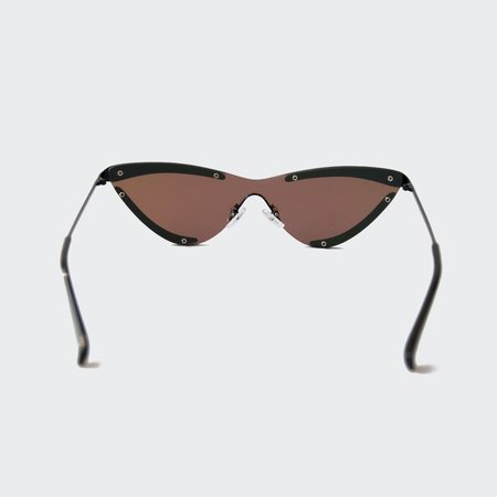 Adam Selman x Le Specs The Scandal Sunglasses - Black