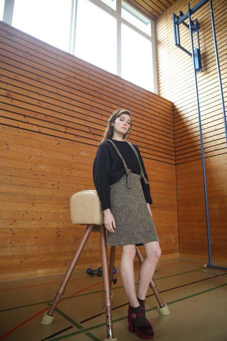 Claudia Nabholz Wool Skirt