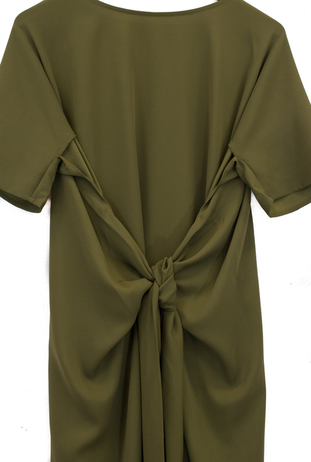 Shaina Mote Gia Dress - Olive