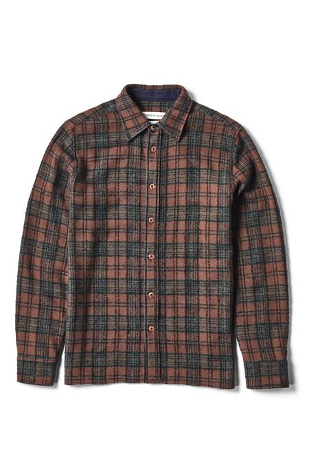 A Kind of Guise Dullu Shirt - Brown