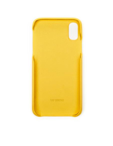 Raf Simons Drugs iPhone X Case - Yellow