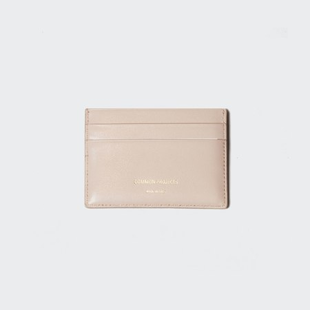 Woman by Common Projects Soft Leather Multi Cardholder - Nude