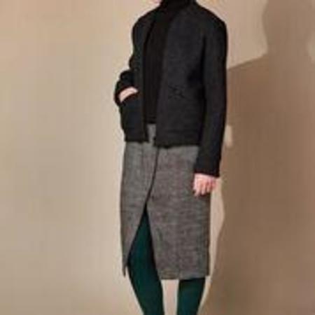 Studio Elsien Gringhuis Bomber Wool Jacket - Anthracite