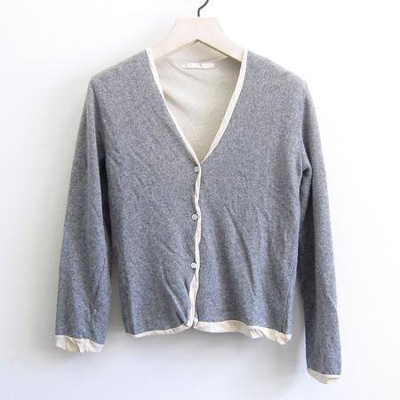 Elsa Esturgie Umberta Sweater - Grey/Ecru