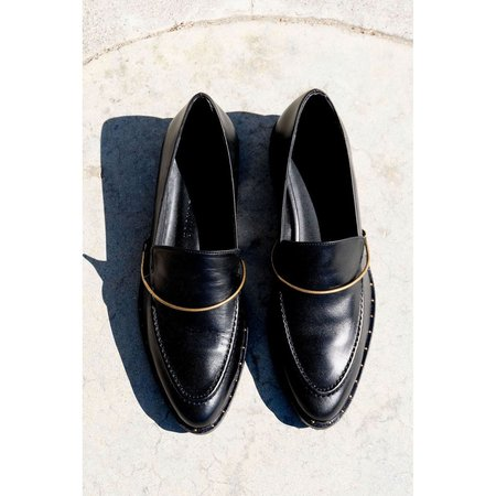 Freda Salvador Light Loafer - BLACK