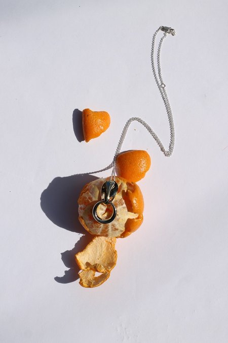 Quarry Brunin Necklace - White Bronze