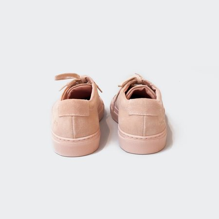 Woman by Common Projects Original Achilles Low Suede - Blush