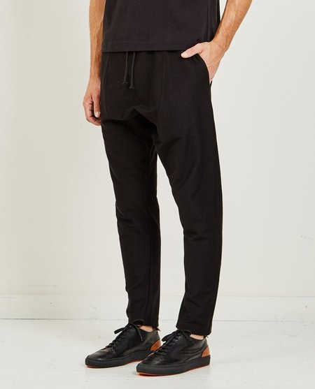 GREI NEW YORK DROP RISE SWEATPANT - BLACK