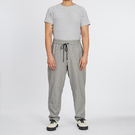 S.K. Manor Hill Coma Pant - Glen Check