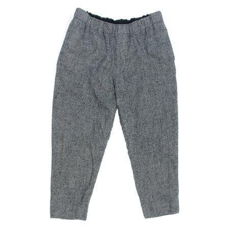 Sage de Cret Wool Linen Easy Pant - Houndstooth