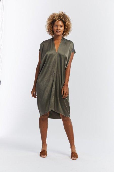 Miranda Bennett Silk Charmeuse Everyday Dress - Lanai