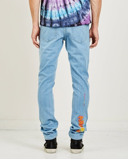 POLITE THANK YOU DENIM JEAN - LIGHT BLUE WASH