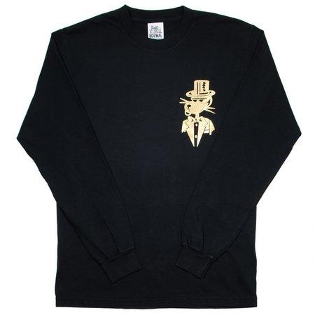 Virgil Normal Plot Is Foiled LS T-shirt - Black