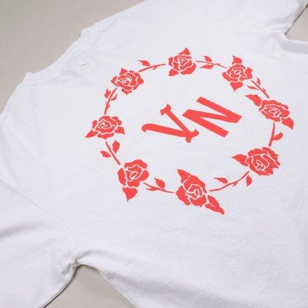 Virgil Normal Roses LS T-shirt - White