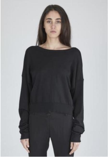 Isabel Benenato Cropped V-Neck Sweater