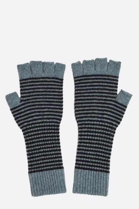 Jo Gordon Fingerless Gloves - Black/Cosmos