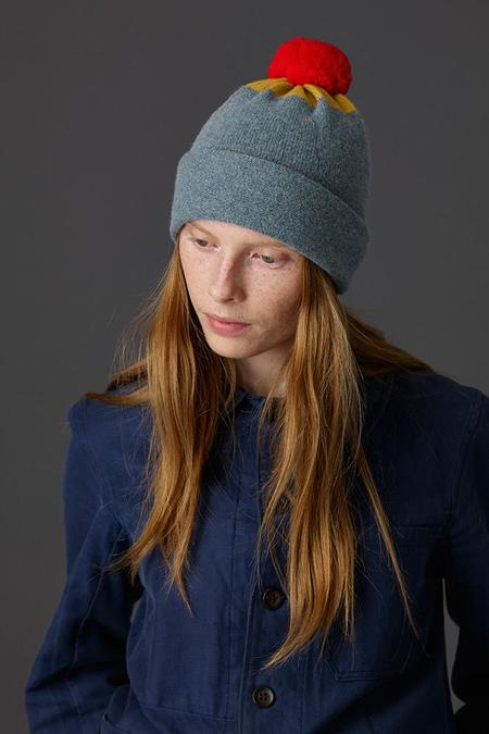 Jo Gordon Top Spot Hat - Jungle/Tumeric