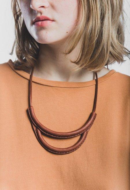 Crescioni Arc Necklace - Russet