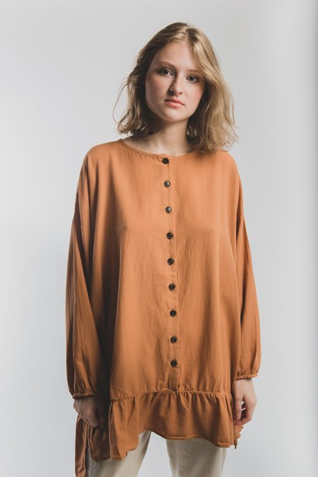 Revisited Matters Nathalie Shirt - Tangerine