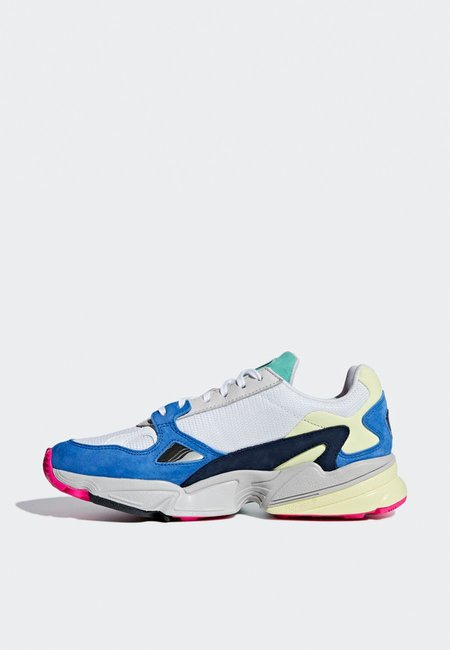 Adidas Originals Womens Falcon - White/Blue
