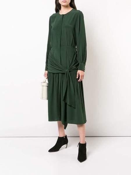 Sea Solange Dress - Dark Green