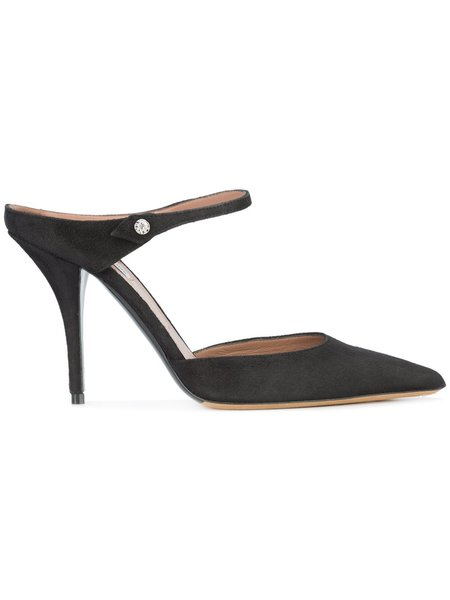 Tabitha Simmons Allie Suede Mule - Black