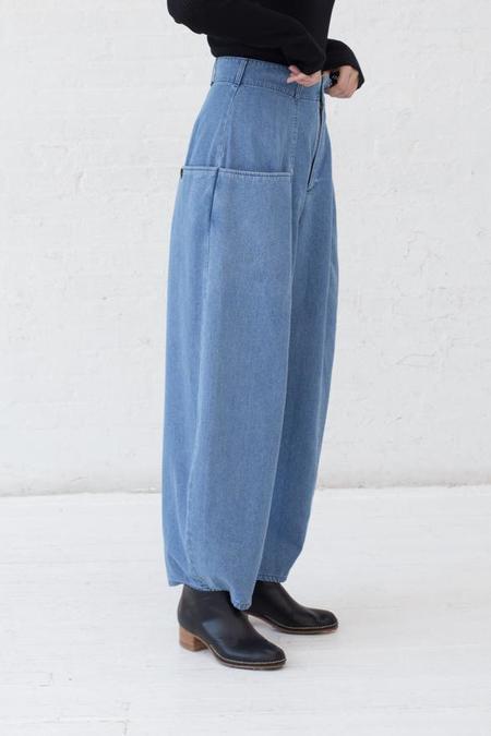69 Bell Pants - Medium Light Denim