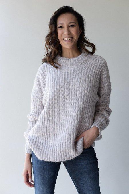 Lauren Manoogian Fisherwoman Pullover - Lavendar