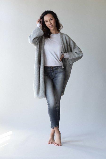 Lauren Manoogian New Wide Cardigan - Light Grey