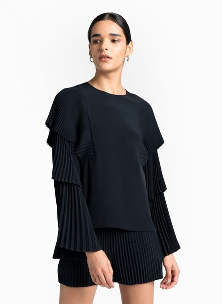 A.L.C. Perabo Top - Midnight