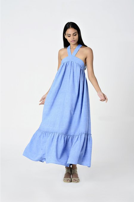 Aish Life Sova Juno Dress - Sky