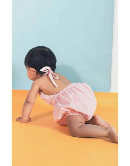 KIDS Anthem of the Ants Baby Beach Halter - Pink Lemonade