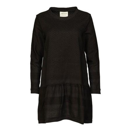 Cecilie Copenhagen Dress 2, O, Long Sleeves - Black