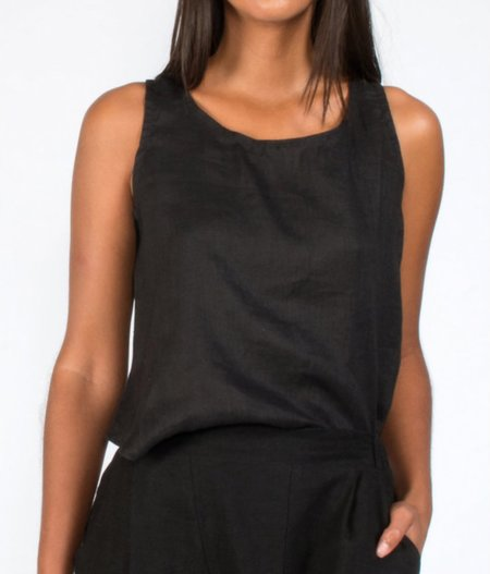 Coast Button Back Tank