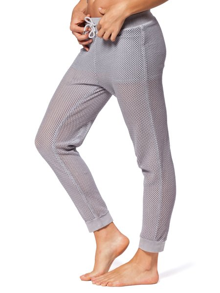 Electric & Rose Panama Mesh Pants - Thunder