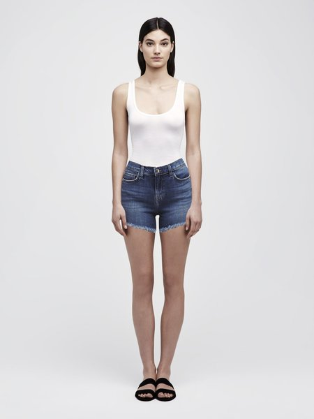 L'Agence Ryland High Waist Short - Authentique