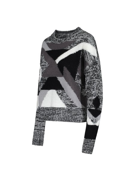John & Jenn Axel Sweater - Hammered Silver