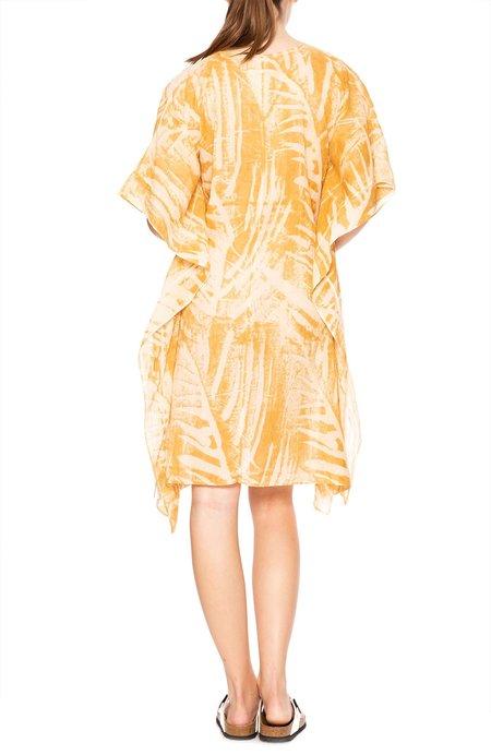 Amanda Bond Johnnie Kaftan Dress - Leaf Print