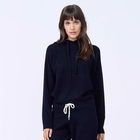 Monrow Cashmere Pullover Hoody