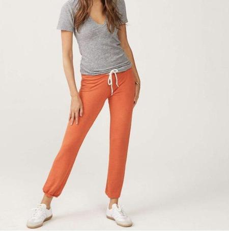 Monrow Vintage Sweats - Red Orange