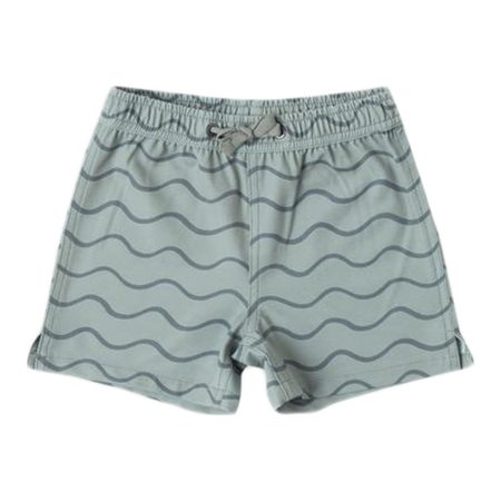 Kids Rylee & Cru Rolling Waves Shorts - Seafoam