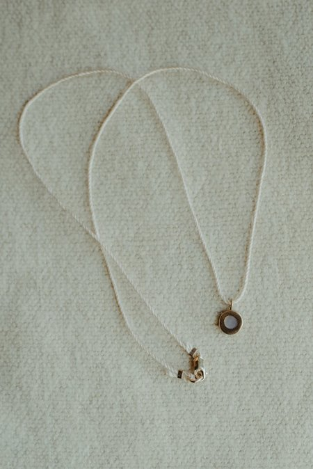 Takara Sea Pendant on Gold Chain