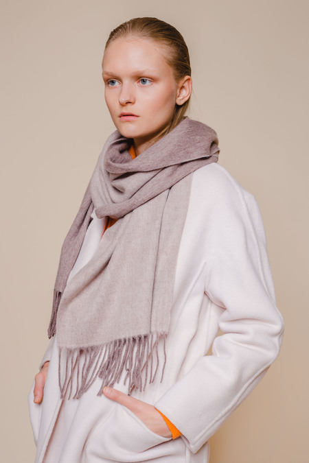 OPUSION Double-Sided Wool Scarf